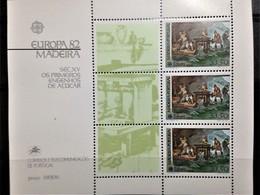 Portugal, Madeira, Uncirculated Souvenir Sheet, «Europa Cept», 1982 - Europa-CEPT