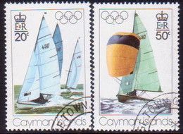 Cayman Islands 1976 SG #410-11 Compl.set Used Olympic Games, Montreal - Caimán (Islas)