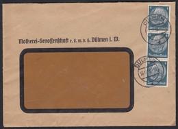 Dülmen 1939 Molkerei-Genossenschaft Wechsel Ankündigung  (17447 - Stamps