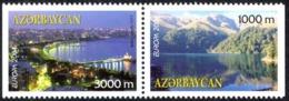 Azerbaijan Sc# 770a MNH H Pair 2004 Europa - Azerbaïjan