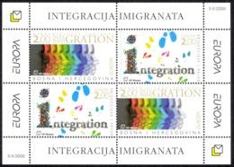 Bosnia & Herzegovina (Croat) Sc# 153c MNH Souvenir Sheet 2006 Europa - Bosnië En Herzegovina