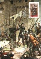 Carte Maximum YT 4654 Citta Del Vaticano 600e Anniversaire De Jeanne D'Arc 11 05 2012 Parfait état - Cartoline Maximum
