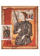 Carte Maximum YT 4654, 600e Anniversaire De Jeanne D'Arc 11 05 2012 Domrémy-la-Pucelle 88 (Vosges) Parfait état - Cartes-Maximum