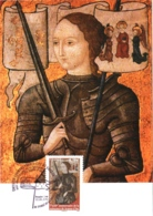 Carte Maximum YT 4654, 600e Anniversaire De Jeanne D'Arc 11 05 2012 Domrémy-la-Pucelle 88 (Vosges) Parfait état - FDC