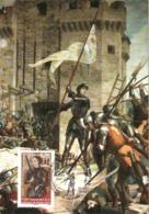 Carte Maximum YT 4654, 600e Anniversaire De Jeanne D'Arc 11 05 2012 Orléans 45 (Loiret) Parfait état - Cartes-Maximum