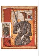 Carte Maximum YT 4654, 600e Anniversaire De Jeanne D'Arc 11 05 2012 Orléans 45 (Loiret) Parfait état - 2010-....