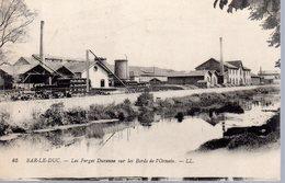 BAR LE DUC  -  Les Forges Durenne Sur Les Bords De L' Ornain  -  LL 85 - Bar Le Duc