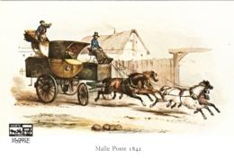 CPM 75 Paris - Musée Postal 6. Malle-poste Briska 1842 TBE Litho De V. Adam - Museums