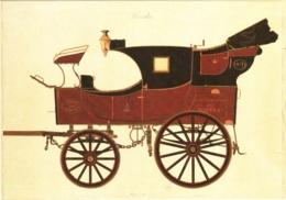 CPM 75 Paris - Musée De La Poste. Malle-poste Briska De 1ère Section 2eme Division De 1843 TBE - Museums