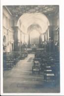 Carte Photo De Saint Chamond Vue Intérieure De L'église Saint Pierre ( Recto Verso ) - Saint Chamond