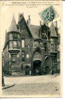 75004 - PARIS Historique - Hôtel De Sens, Rue Du Figuier - Verrerie - édit. LJ - Paris (04)