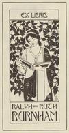 Ex Libris Ralph And Ruth Burnham -  - Ex-libris
