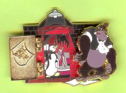 Gros Pin's Disney Bongo Gorille (Qui Veut La Peau De Roger Rabbit) 2 Photos RARE - #846 - Disney