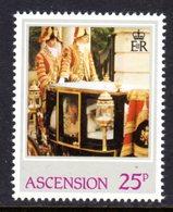 ASCENSION - 1982 PRINCESS DIANA 21st BIRTHDAY 25p STAMP FINE MNH ** SG 324 - Ascension