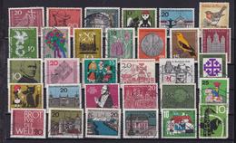 BRD 1 Steckkarte Mit Sondermarken Gestempelt - [7] République Fédérale