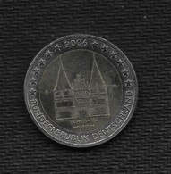 EURO COMM. ALLEMAGNE 2006  1 Pièce De 2 Euros A / SCHLESWIG-HOLSTEIN  / De Circulation / Bon état - Deutschland