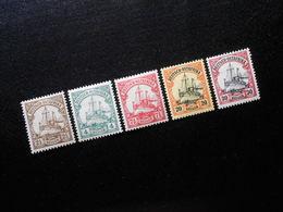 D.R.Mi 30 L/31/32b/33b/34/35*MNH - Deutsche Kolonien ( Deutsch-Ostafrika ) 1905/1920 - Mi 13,50 € - Colony: German East Africa
