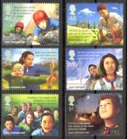 Great Britain Sc# 2492-2497 MNH 2007 Scouting 100th - 1952-.... (Elizabeth II)
