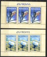 Romania Sc# 4585-4586 MNH Pane/3 2003 Europa - 1948-.... Républiques