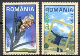 Romania Sc# 4585-4586 MNH 2003 Europa - 1948-.... Republics