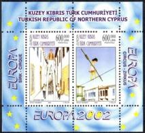 Turkey Northern Cyprus Sc# 543 MNH Souvenir Sheet 2002 Europa - Other