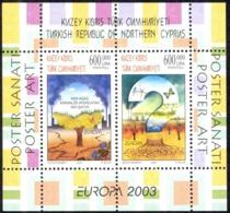 Turkey Northern Cyprus Sc# 560 MNH Souvenir Sheet 2003 Europa - Other