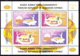 Turkey Northern Cyprus Sc# 595c MNH Souvenir Sheet 2004 Europa - Other