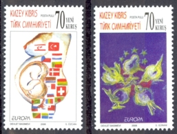 Turkey Northern Cyprus Sc# 618-619 MNH 2006 Europa - Other