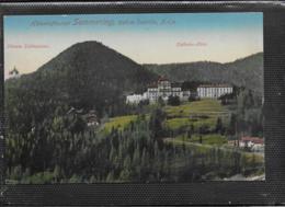 AK 0406  Semmering - Silberer Schößchen Und Südbahn Hotel / Verlag Ledermann Um 1911 - Semmering