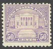 USA Sc# 570 MNH 1922 50c Lilac Arlington Amphitheatre - Etats-Unis