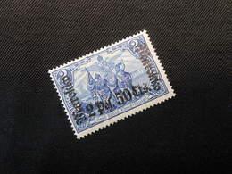 D.R.Mi 56 LA  - 2P25C Auf 2M*MLH - Deutsche Auslandpostämter ( MAROKKO ) 1911 - Mi 10,00 € - Deutsche Post In Marokko