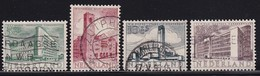 Netherlands 1955, Nvphnr 656-659 Vfu. Cv 15,70 Euro - Period 1949-1980 (Juliana)