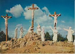 LOIRE ATLANTIQUE CALVAIRE DE PONT-CHATEAU LE CHEMIN DE CROIX XIIe STATION JESUS MEURT EN CROIX - Pontchâteau