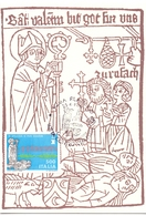 LOTTA CONTRO L'EPILESSIA 1988 MAXIMUM POST CARD (GENN200487) - Malattie
