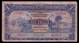 Trinidad & Tobago 1 Dollar 1935 Rare Date VG - Trinidad & Tobago