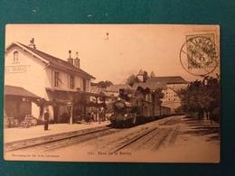 SUISSE GARE DE LA SARRAZ - VD Vaud