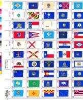 USA Sc# 1682a MNH Pane/50 1976 13c State Flags - United States