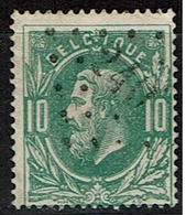30  Obl  LP  240  Mariemont  + 6 - 1869-1883 Leopold II.