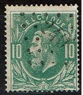 30  Obl  LP  240  Mariemont  + 6 - 1869-1883 Léopold II