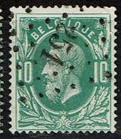 30  Obl  LP  251  Momignies  + 8 - 1869-1883 Léopold II