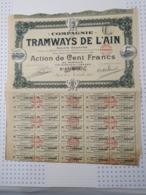 Tramways De L'Ain - Chemin De Fer & Tramway