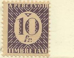 36  TAXE  Luxe Sans Ch  (clascolongener) - Postage Due