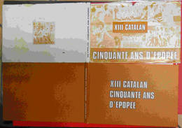 1984 Rugby Livre XIII Catalan 50 Ans D'épopée Et Sa Jaquette Nombreux Clichés éditions Du Castillet Perpignan - Sport