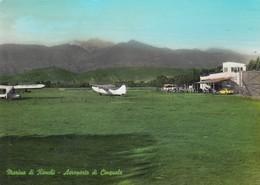 AEROPORTO-AEROPORT-AIRPORT-FLUGHAFEN-MARINA DI RONCHI-AEROPORTO DI CINQUALE-ITALIA-VERA FOTOGRAFIA VIAGGIATA IL 5-7-1961 - Aérodromes