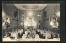 CPA Vichy, Restaurant Marius, 5, Rue Royale - Vichy