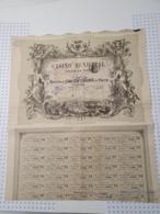 Casino Municipal De La Ville De Nice En 1881, Déco Exceptionnelle! - Casino