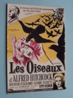 LES OISEAUX >  Hitchcock ( E 289 ) Edition F. Nugeron ( !! REPRODUCTION D'Affiche !! ) ! - Affiches Sur Carte