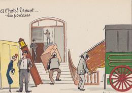 BARRE DAYEZ  1435 U  ( Scan Recto-verso ) - Postkaarten
