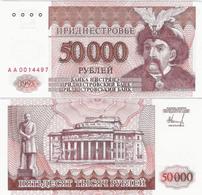 Transnistria  1995 - 50000 Rublei - Pick 28 UNC - Bankbiljetten