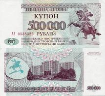 Transnistria  1997 - 500000 Rublei - Pick 33 UNC - Bankbiljetten